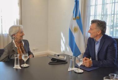 Christine Lagarde volvió a elogiar la decisión de la Casa Rosada de optar por un camino gradualista en su intención por reducir el déficit fiscal.