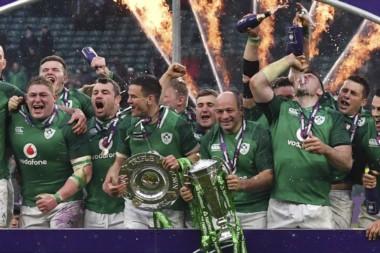 Irlanda derrotó a Inglaterra y levantó su tercer Grand Slam de su historia.