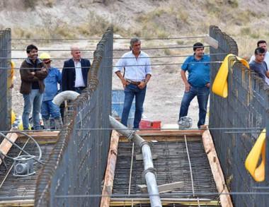 El intendente Sastre anunció nuevas obras barriales.