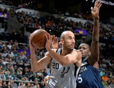 Los Spurs derrotaron 117-101 a los Timberwolves en un partido clave de la Conferencia Oeste.