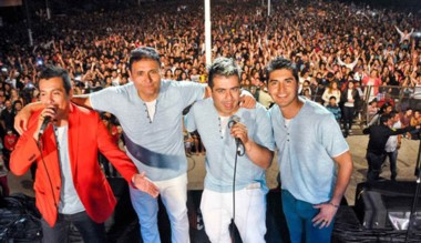 """El cierre del espectáculo estará a cargo de """"La Banda al Rojo Vivo""""."""