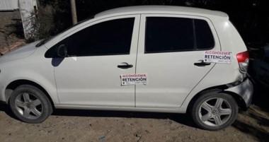 El auto fue secuestrado en averiguación de su posible participación en delitos ocurridos en Playa Unión.