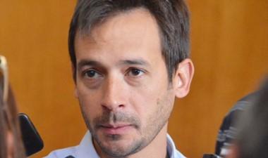 Simón Cimadevilla, concejal del Frente para la Victoria.