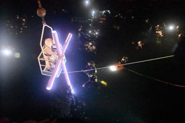 El Vía Crucis  submarino será una de las citas tradicionales que se reeditarán en este año .