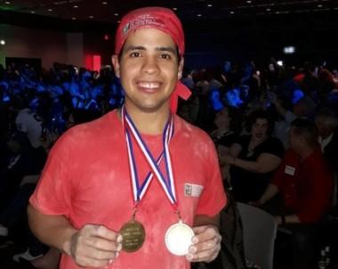 El bonaerense Ezequiel Ortigoza se consagró campeón mundial del World Pizza Games.