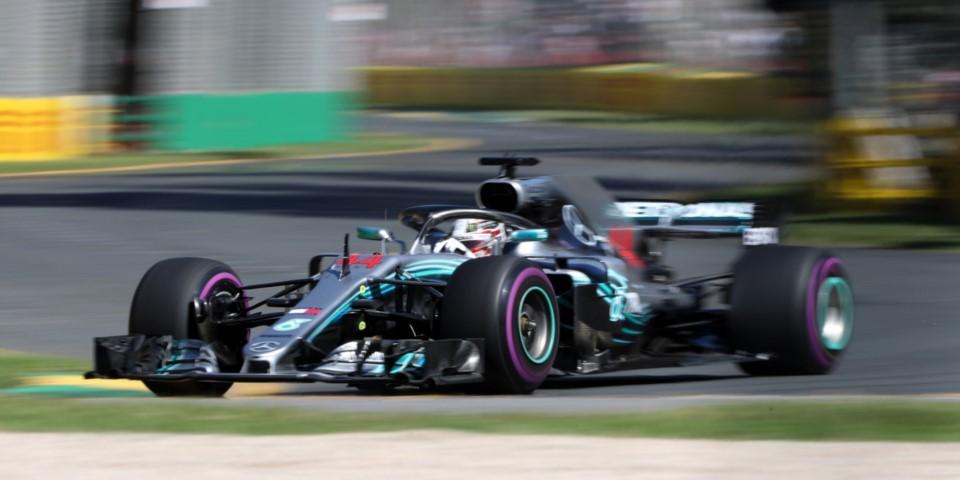 Fórmula 1: Hamilton arrancó adelante en el GP de Australia