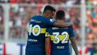 Carlos Tevez y Edwin Cardona, lesionados. Guillermo no sabe cuanto tiempo estarán fueras de las canchas.