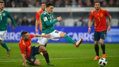 No se hicieron daño: Alemania y España igualaron 1-1 en amistoso FIFA.