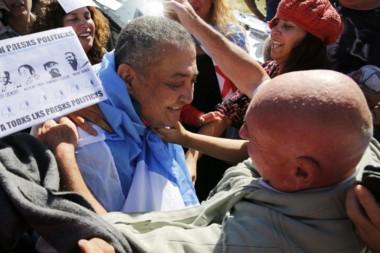 En libertad, Luis D'Elía apuntó contra Mauricio Macri y llamó a marchar hoy