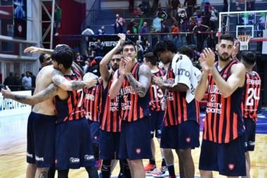 El Ciclón derrotó a Estudiantes por 101-78 en Boedo y jugará la final del Final Four ante Mogi Das Cruzes.