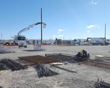 Avance. El Gobierno nacional promocionó su intervención en las obras portuarias para Madryn.