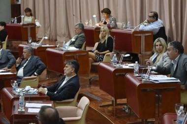 Como antes. Los diferentes paros provinciales impidieron el normal funcionamiento de la Cámara.