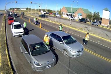 La Agencia de Seguridad Vial junto a fuerzas policiales provinciales labraron 34 actas de infracción.