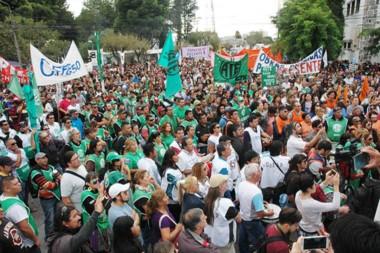 La imagen con las manifestaciones.
