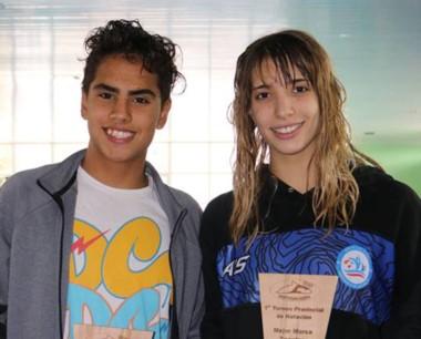 Julieta Lema logró el récord nacional de su categoría en los 100 libres.