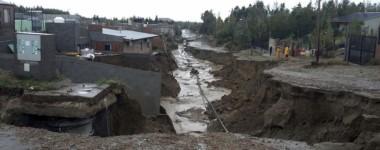 Catástrofe. Se cumple hoy un año de la emergencia climática en el sur provincial.