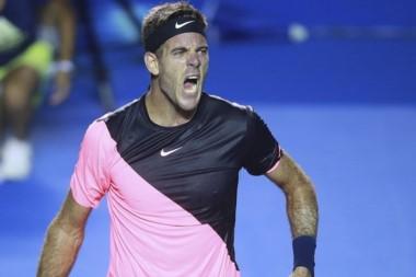 A la medianoche Del Potro define con Anderson el ATP de Acapulco.
