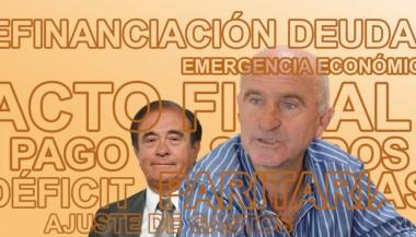 Nuevo equipo económico. Garzonio y Tarrío afrontarán varios desafíos en el corto y mediano plazo.