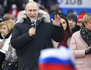 Vladimir Putin va por el cuarto mandato presidencial de su país.