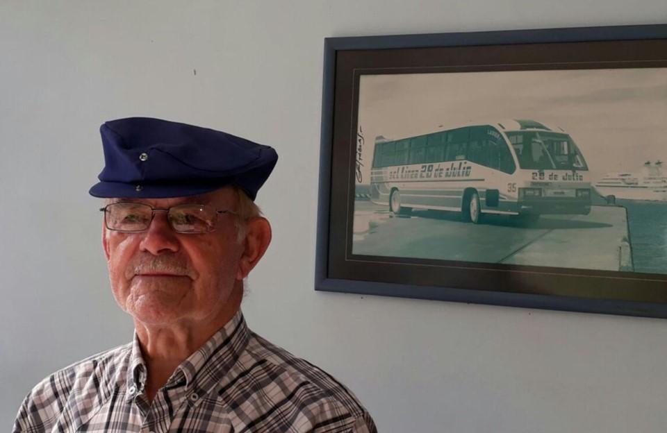 Mario Rancho, una vida con el transporte del Valle