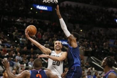 Ginóbili, prócer en los Spurs: números superlativos dentro de la franquicia.