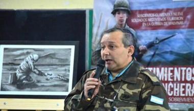 Juan Recheni presentará una Muestra fotográfica sobre Malvinas.