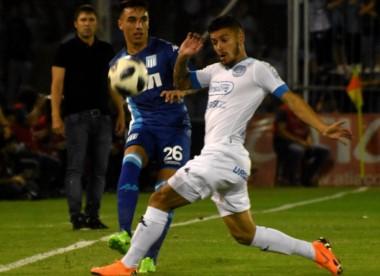 Racing y Belgrano igualaron en dos tantos en un entretenido juego, en Córdoba.