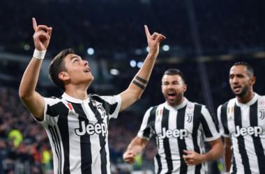 Paulo Dybala marcó el 1-0 en el triunfo de Juventus 3-1 sobre Milan.