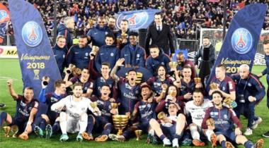 Quinto título de Copa consecutivo del PSG tras ganar 3-0 al Mónaco.