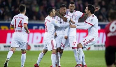 Bayern Munich goleó 4-0 en su visita a Friburgo por la fecha 25 de la Bundesliga.