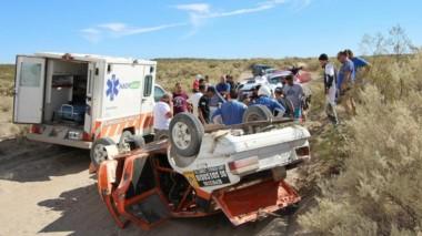 Maldonado fue llevado a la clínica roquense y entró lúcido, pero minutos más tarde murió por un paro cardíaco.