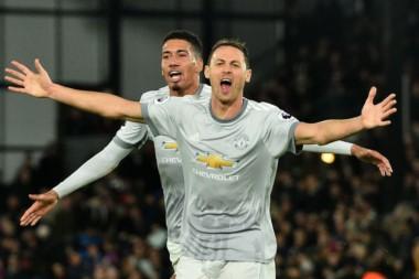 Manchester United dio vuelta el partido de manera increíble ante el Crystal Palace.