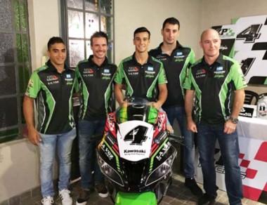 """El team oficial ZP Racing de Kawasaki hará pruebas en el """"Mar y Valle""""."""