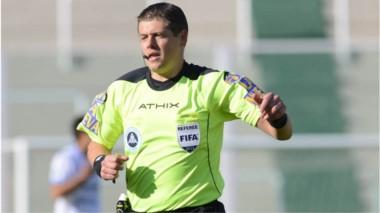German Delfino será el arbitro de Huracán vs. Boca, el domingo a las 20 hs.