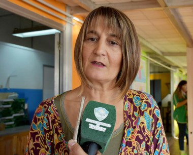 Olga Vicente, coordinadora de Educación del municipio de Trelew.