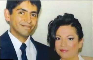 Rubén Valera Cornejo, médico, junto a su esposa y víctima Yubitza Llerena.