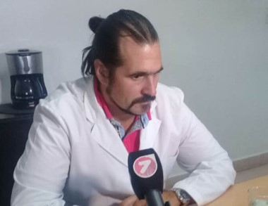 Sebastián Kidd, médico nefrólogo y jurisdiccional del Incucai.