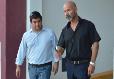 Protagonistas. Williams (izquierda) y Rodríguez, de la Unidad.