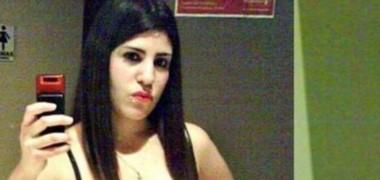 Nahir Quinteros en una foto de la época que fue detenida (foto archivo)
