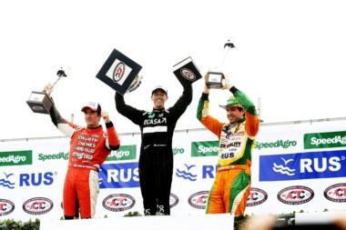 Con su Dodge, Leonel Pernía celebró en la tercera fecha del TC
