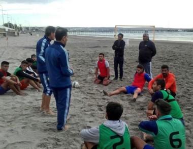 Se realizó en Puerto Madryn una capacitación de Fútbol Playa.