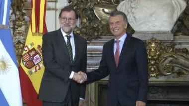 Rajoy y Macri reafirman plena sintonía política entre gobiernos.