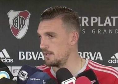 Armani sueña con ganar la Libertadores con River y jugar el Mundial con Argentina.
