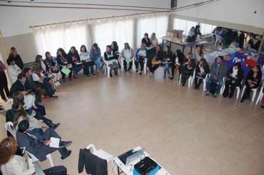 El taller contó con la participación de representantes de los diferentes municipios y de la justicia.