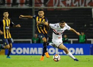 Como local, Rosario Central igualó 0-0 ante San Pablo. Hoy se juega la vuelta.
