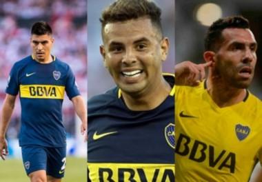 Boca tiene varias bajas para el partido ante Independiente.