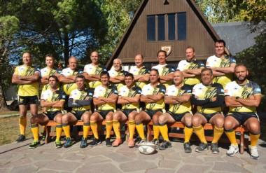 El equipo de veteranos de Patoruzú, partirá el miércoles hacia España para participar de dos encuentros.