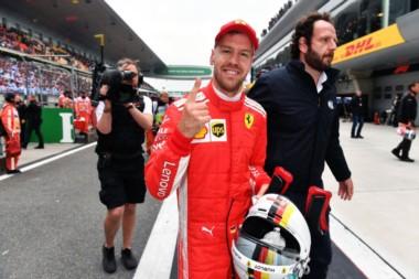 Vettel impone autoridad y alcanza la pole en el GP de China.