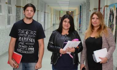 Samuel, Florencia y Mariana brindaron sus testimonios de participar del programa Mayores de 25.