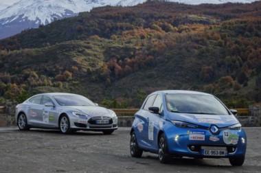 El rally de autos eléctricos que va desde Santa Cruz a Salta pasará por Chubut. Seguirá hacia Río Negro
